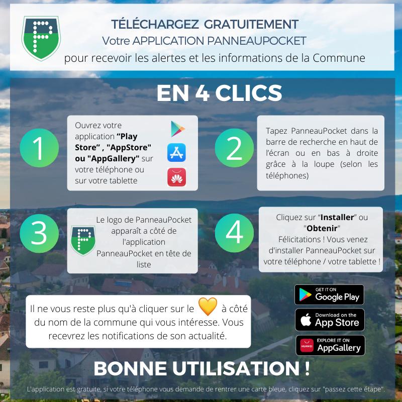 Guide telechargement app